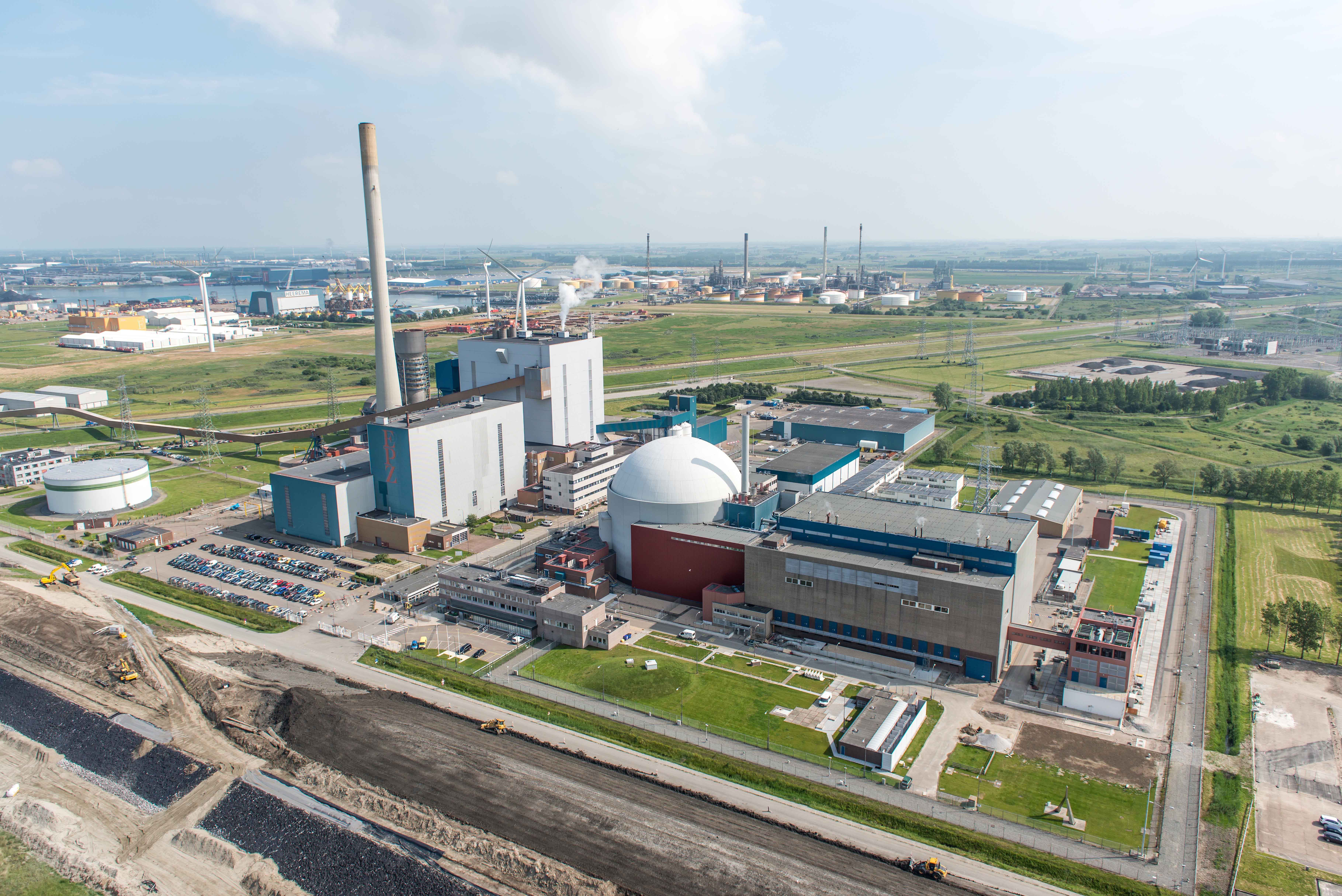 Borssele / Sloegebied / kerncentralefoto: Joop van Houdt / Rijkswaterstaat